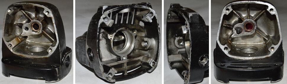 Окончательный результат ремонта корпуса редуктора УШМ Craft CAG-180/1900