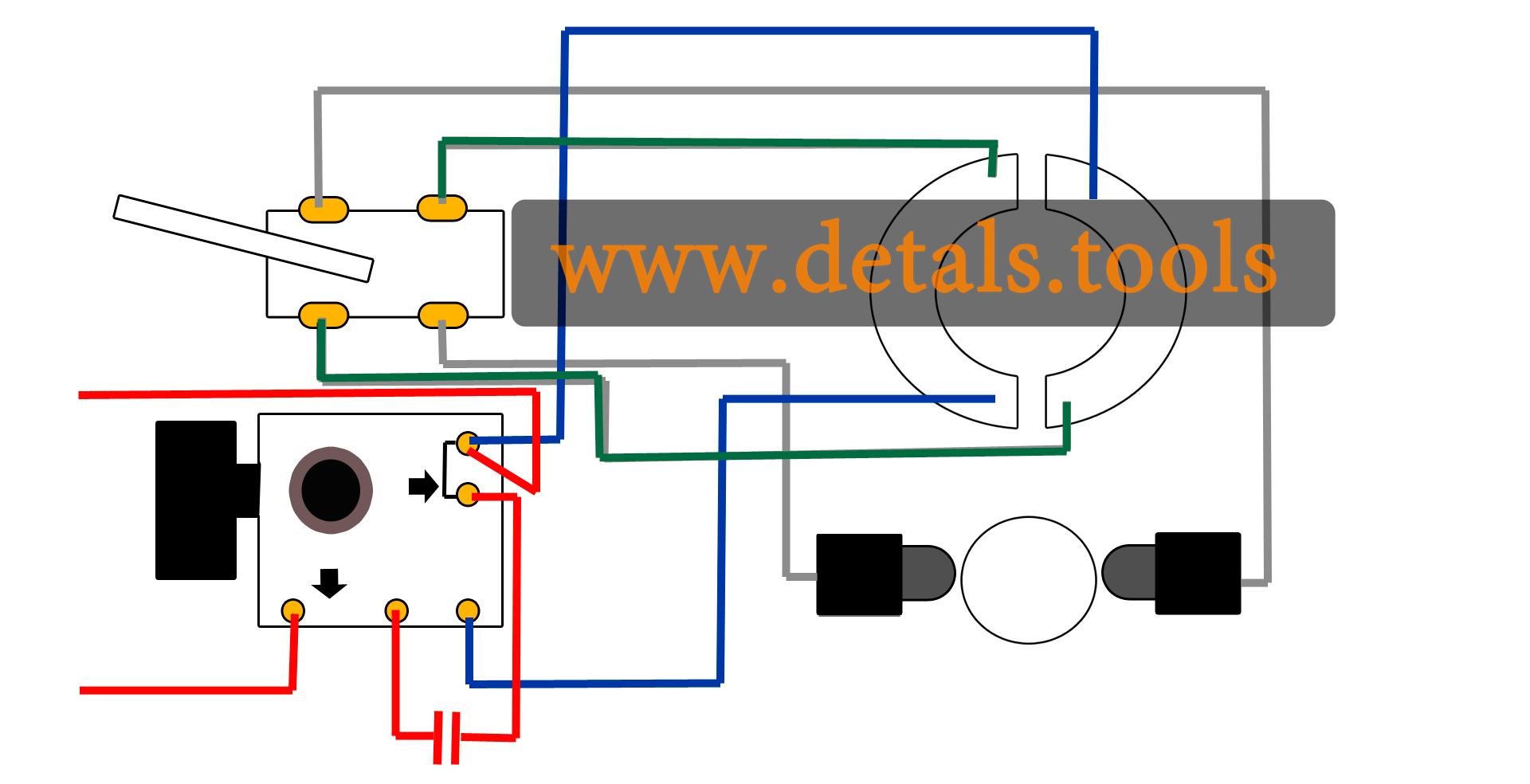 Схемы соединения электродрелей