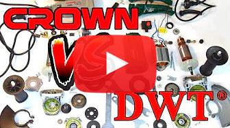 Видеообзор: сравнение Crown CT13497-125 R VS DWT WS08-125 T