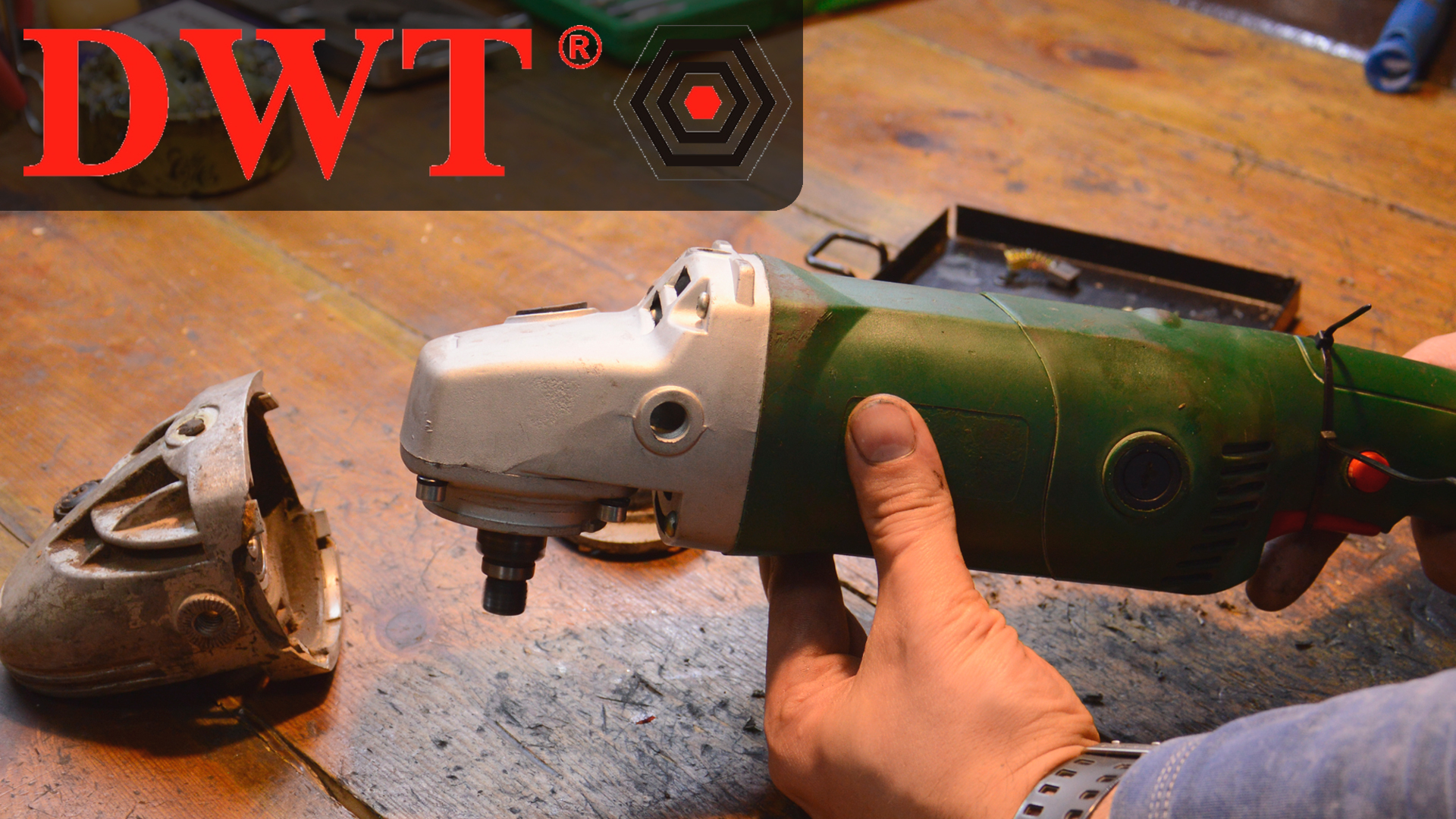 Замена / адаптация корпуса редуктора DWT WS-150 SL